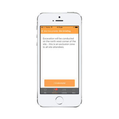 Mockup - Mobile - Briefing